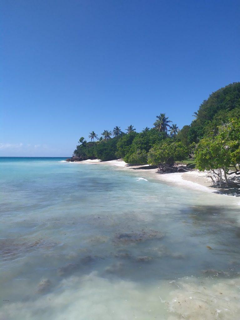 остров кайо левантадо утром