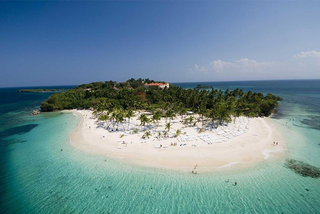 остров бакарди вид сверху