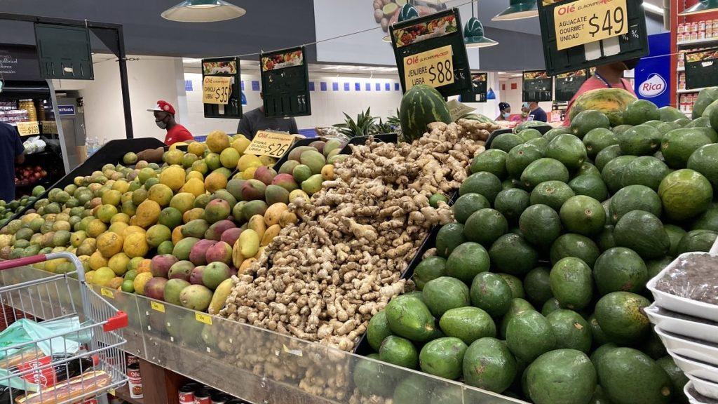 фрукты в доминиканских магазинах