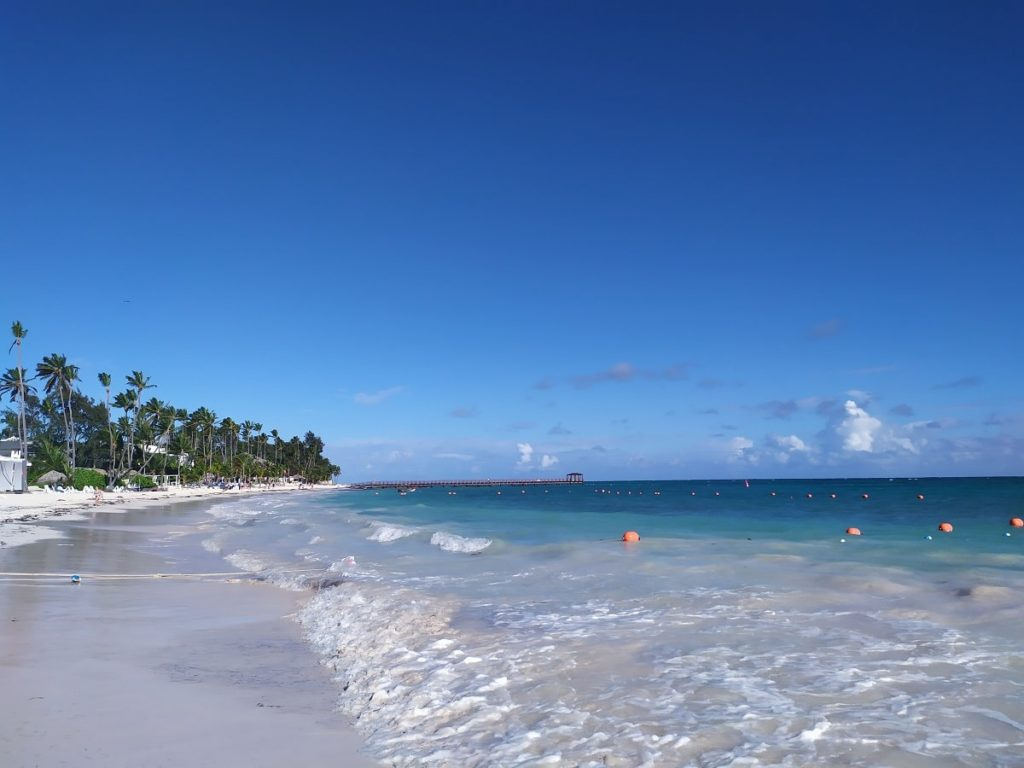 пляж отеля доминиканы