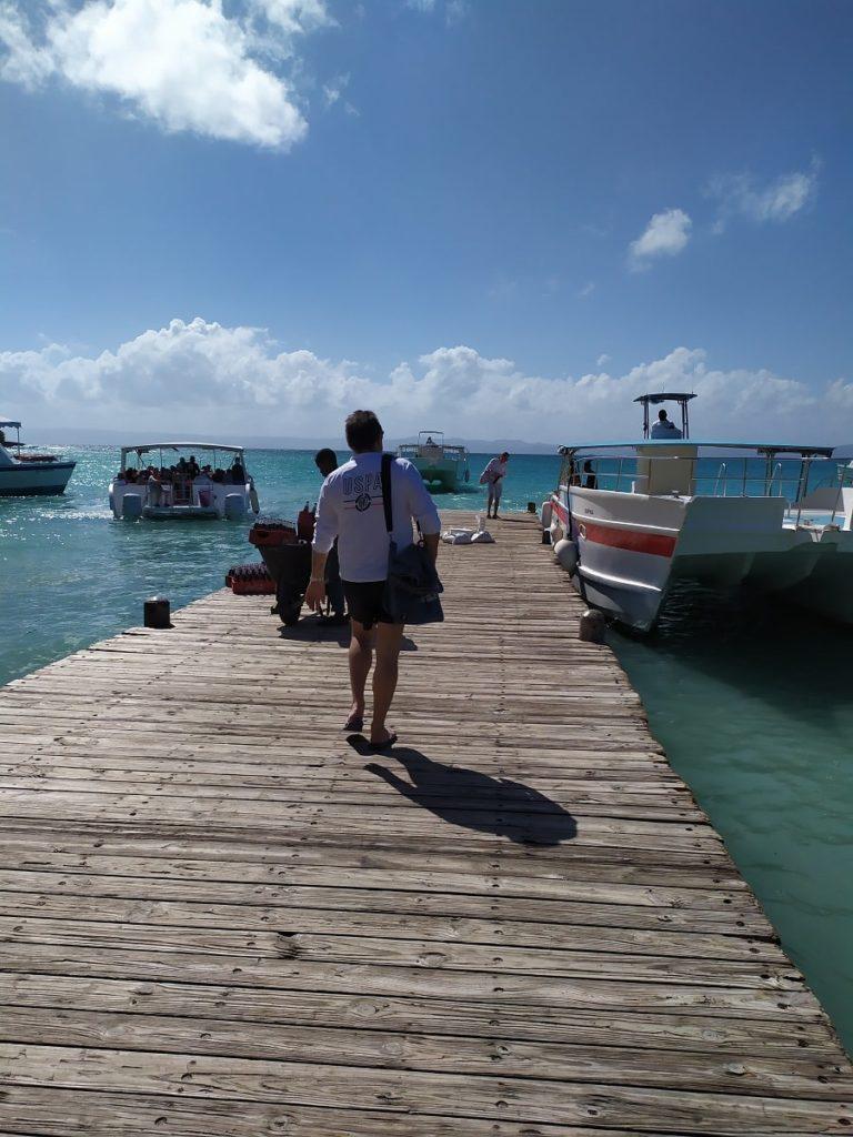 пирс для лодок кайо левантадо