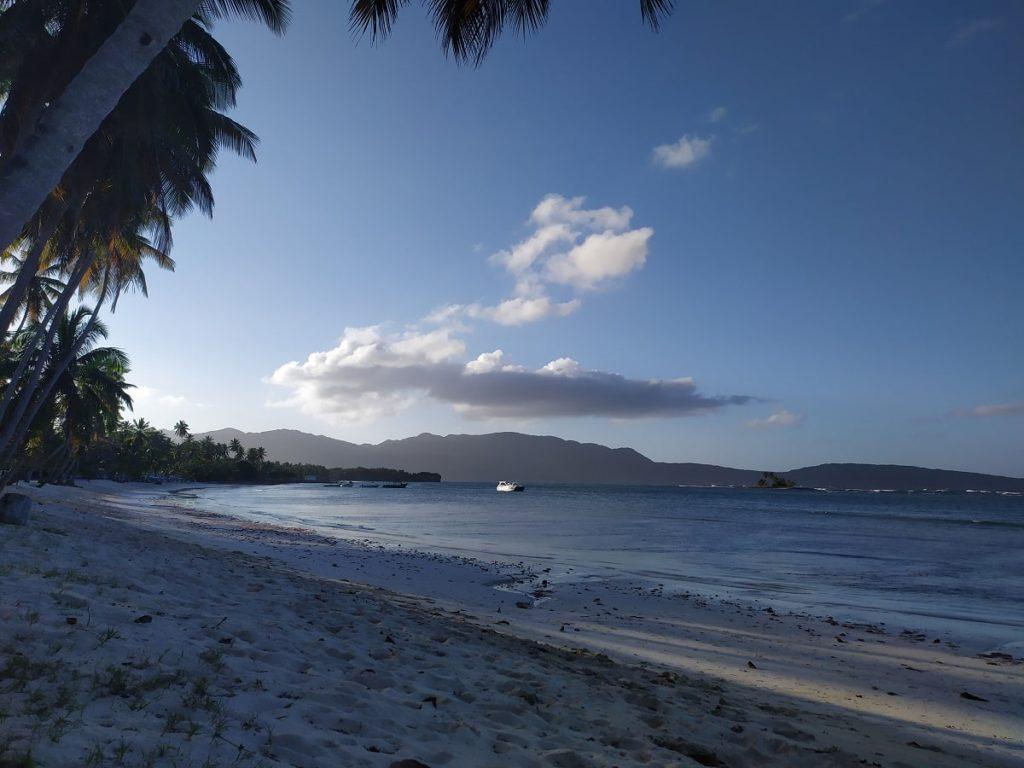 пляж лас галераса ринкон на закате