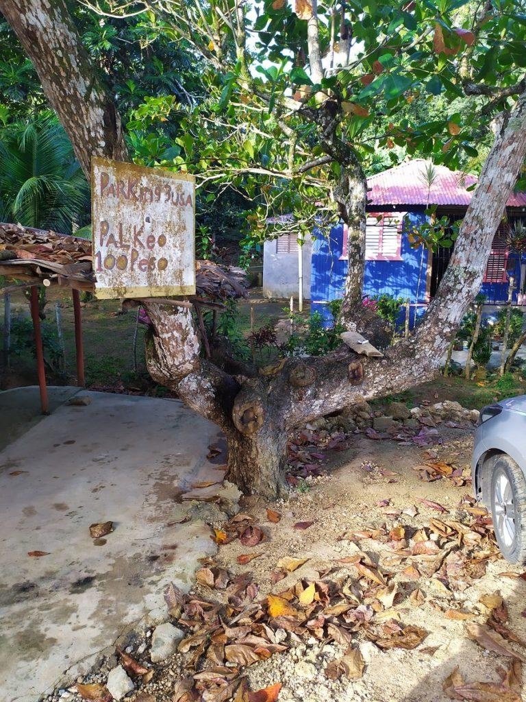 парковка в доминикане