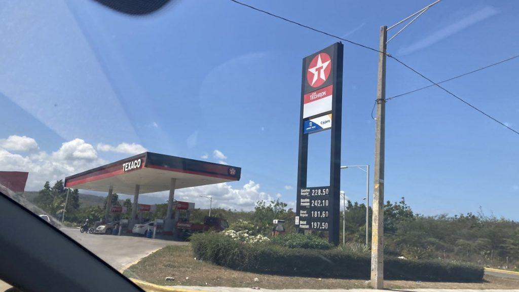 стоимость бензина в доминикане