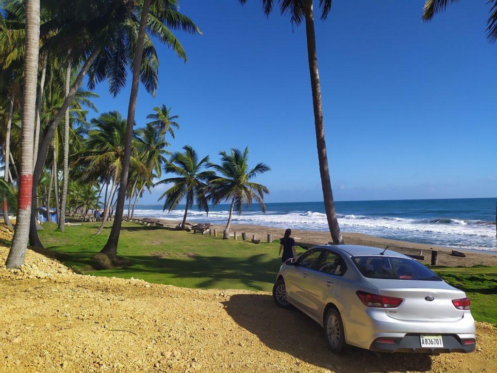 дорога по северу доминиканы