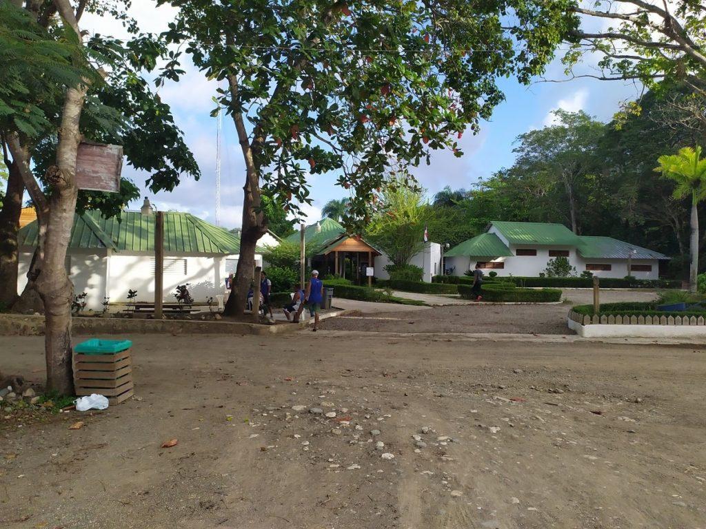 Стартовый лагерь 27 водопадов Доминикана