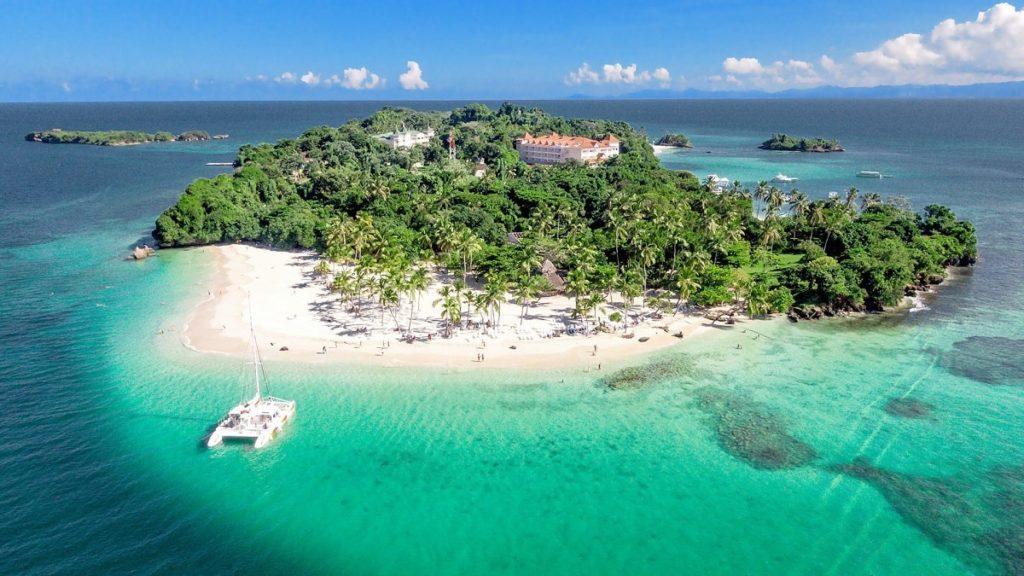 Пляж где снимали рекламу рома Бакарди