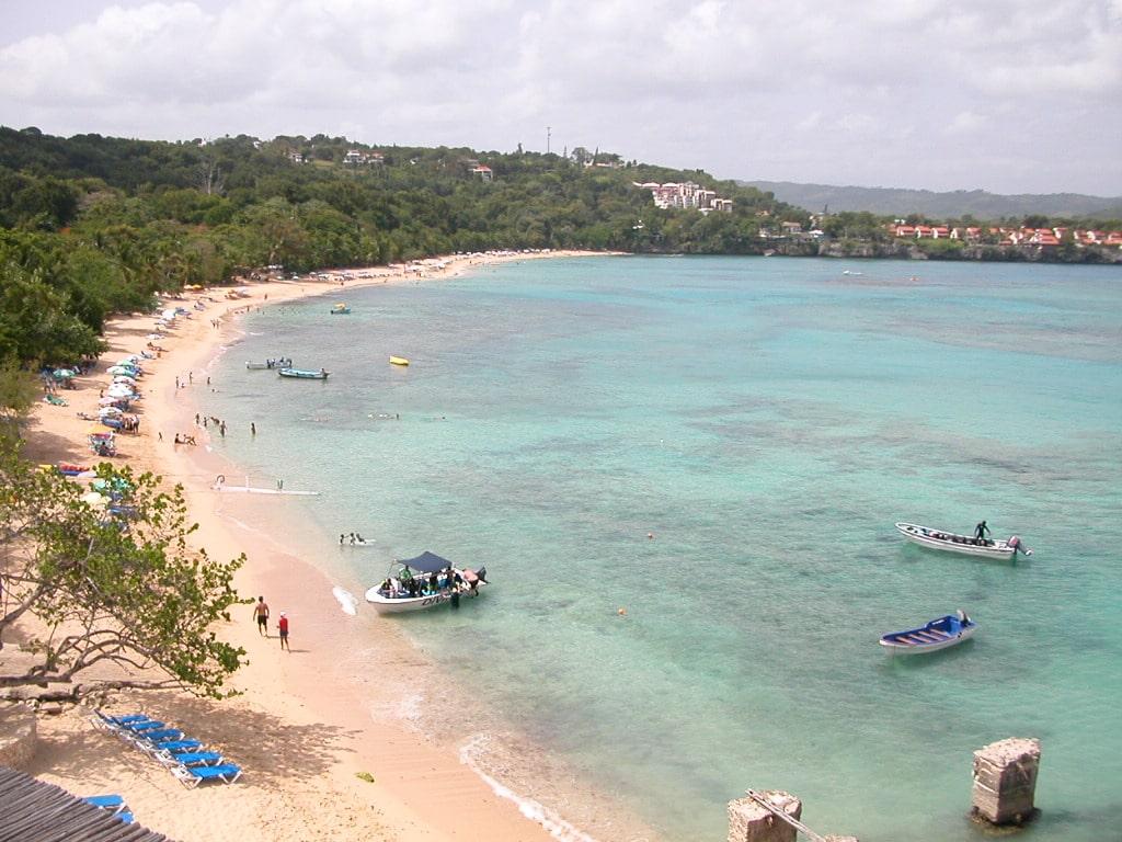 Город Сосуа главный пляж