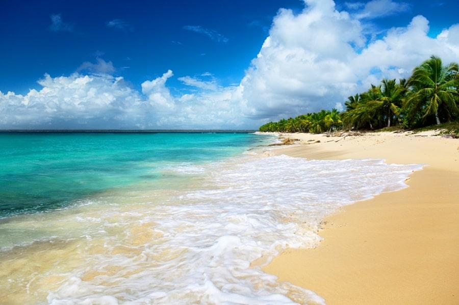 Пляж Каталина на острове Каталина