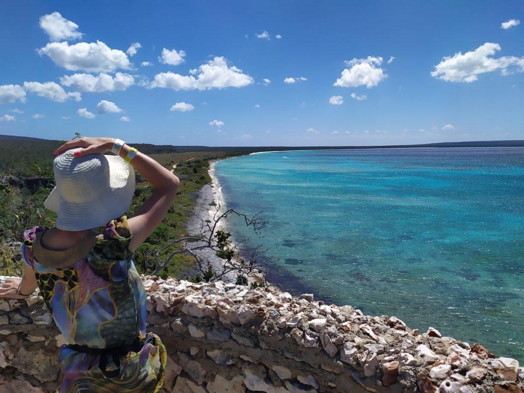 Бухта Орлов и карибское море