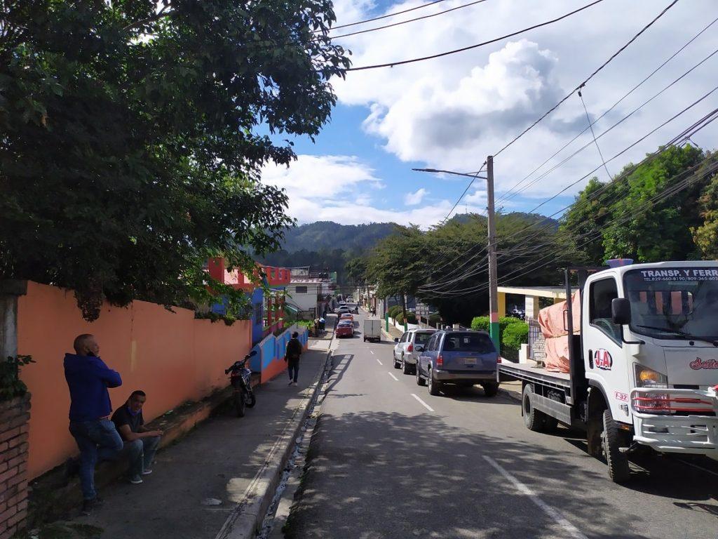 улица доминиканского города