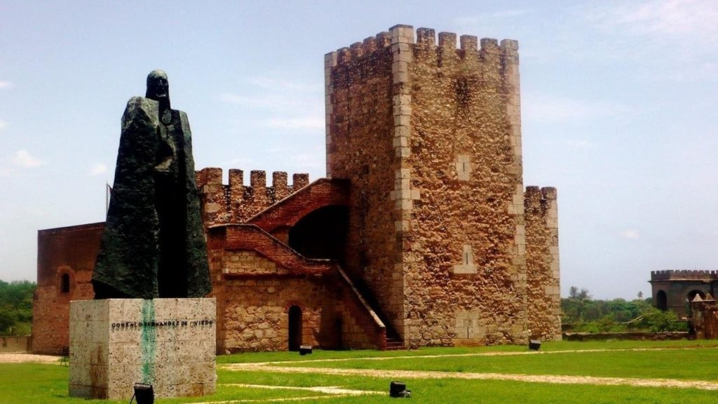 Крепость Осама столица Доминиканы