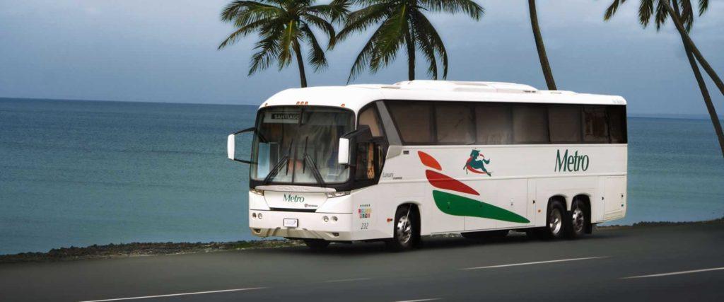 Автобусная компания метро в Доминикане