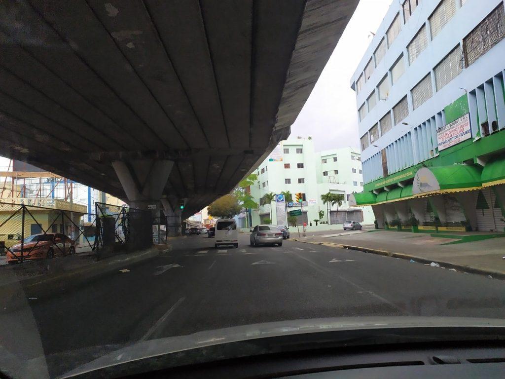 Улицы Санто-Доминго окраины города