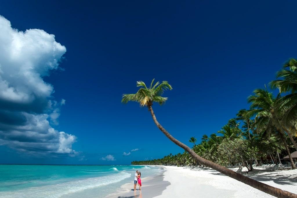 Пляж где снимали рекламу баунти