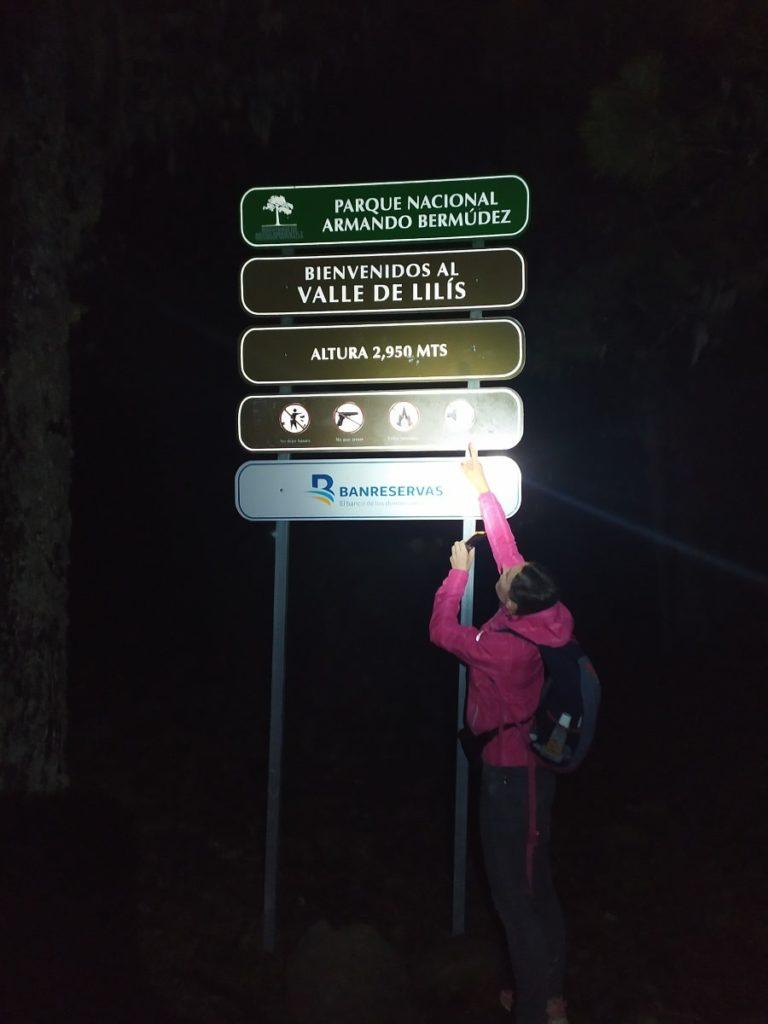 дорога на Пик Дуарте высота 2950м
