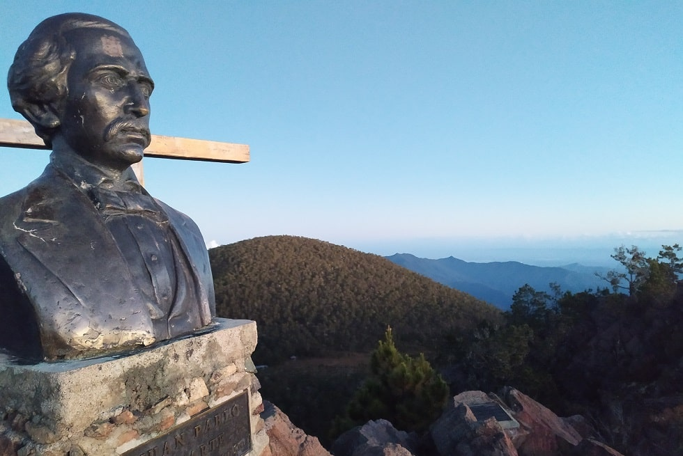 Пик Дуарте Pico Duarte фото вершины