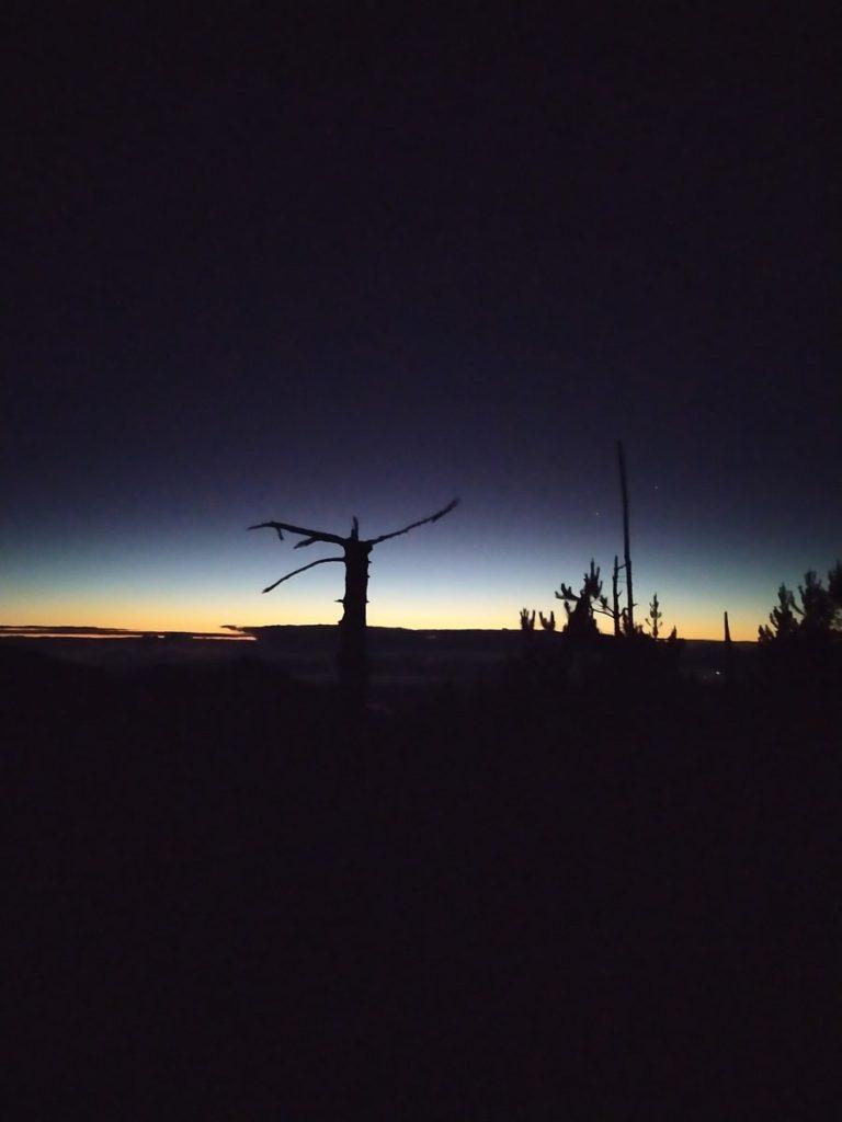 Рассвет на Pico Duarte