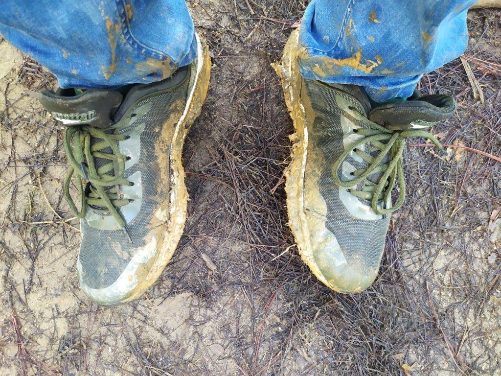 Кроссовки после восхождения