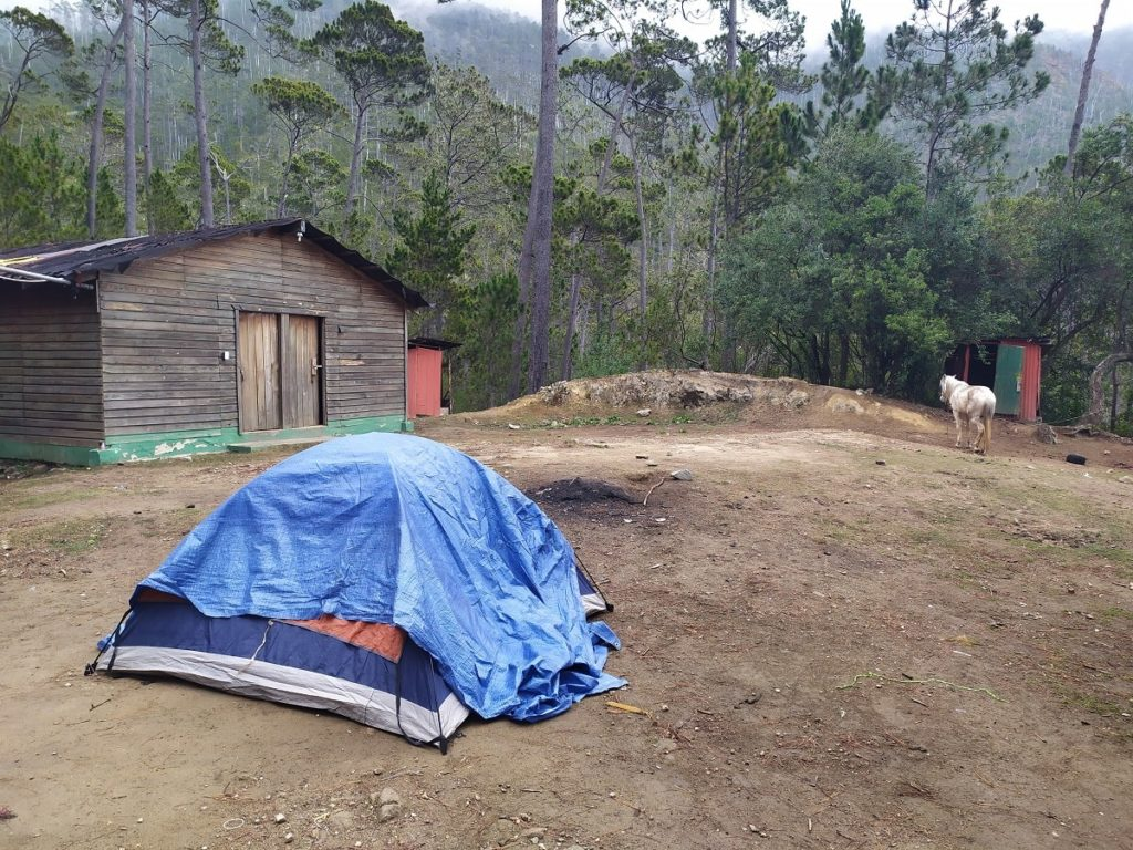 Ночевка в базовом лагере