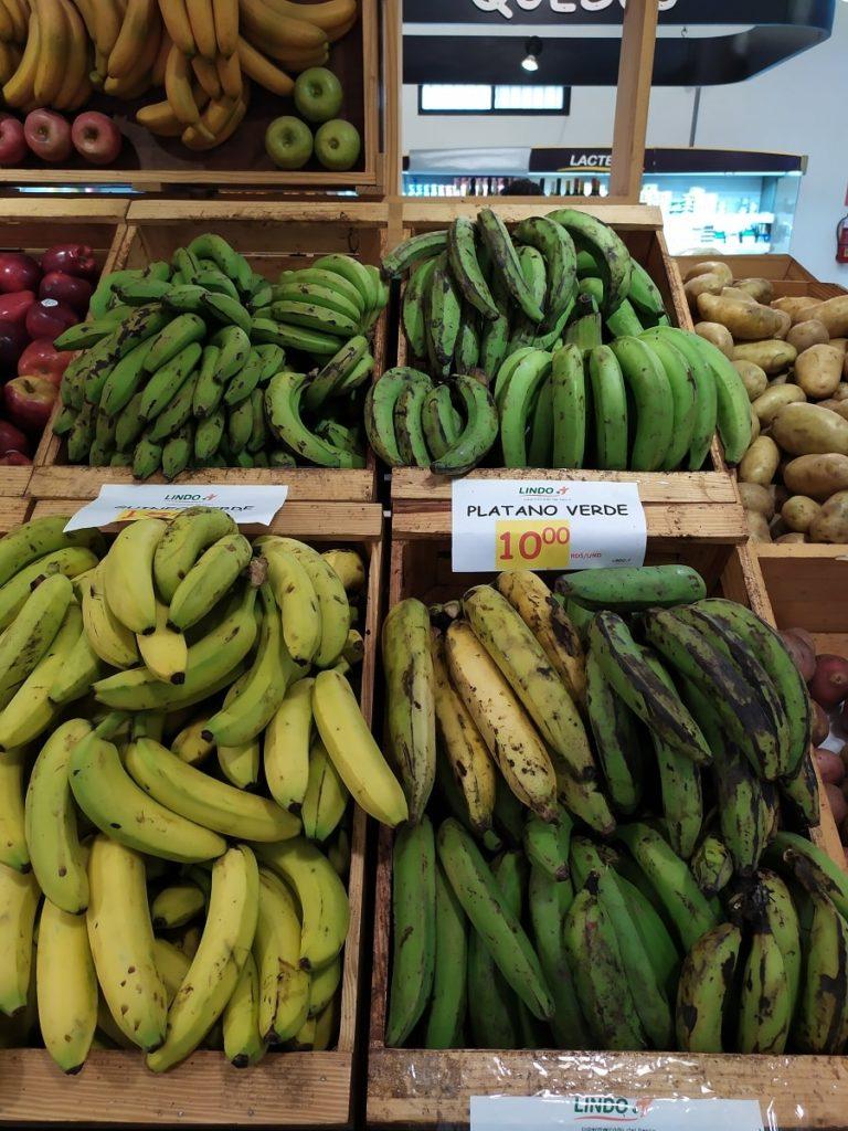 Бананы и Платано на карибах