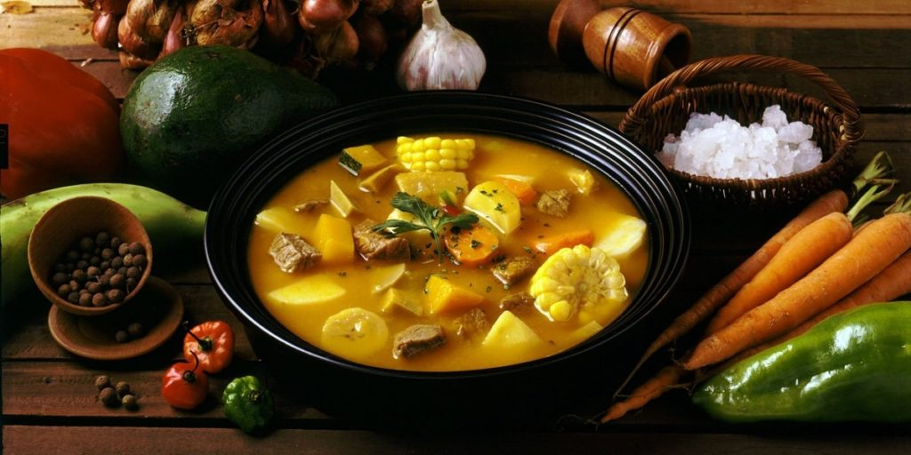 Доминиканский суп Санкочо