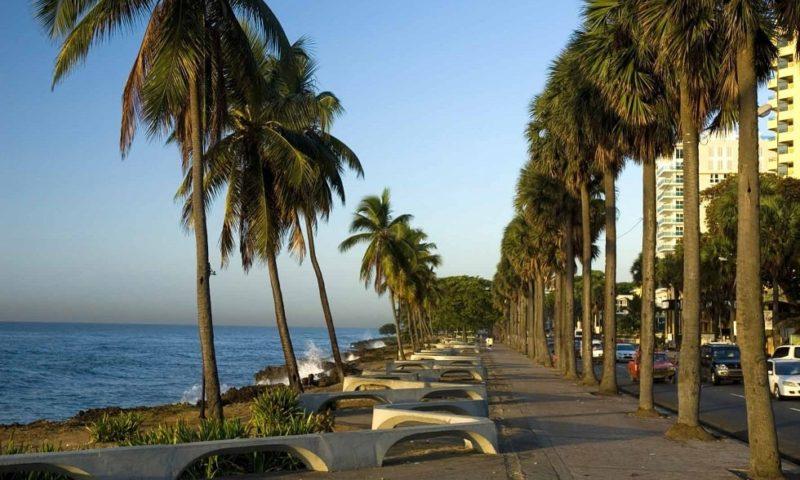 Набережная столица Доминиканы