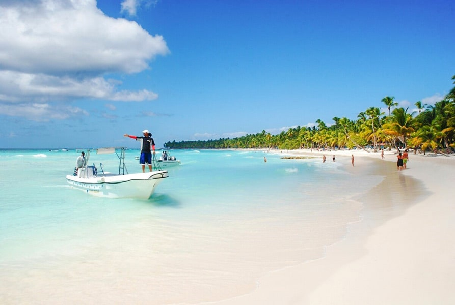 Лучшие пляжи Доминиканы Саона пляж