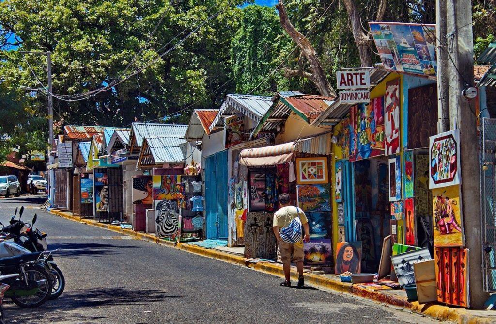 Город Сосуа Доминикана