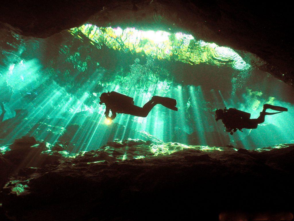 дайвинг в пещерах доминиканы