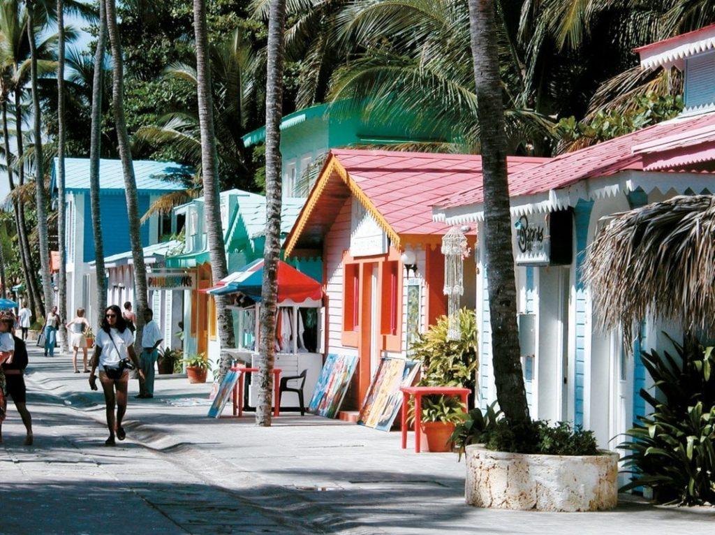 улица в Пунта-Кана