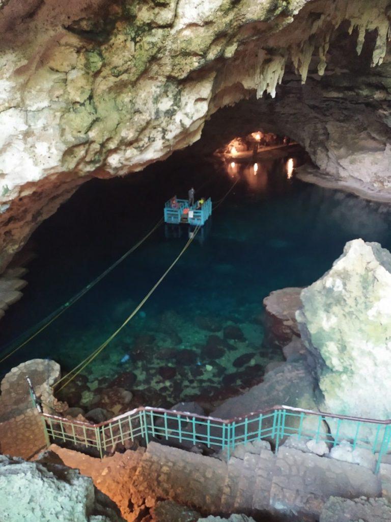 Паром-лодка пещера Три Глаза
