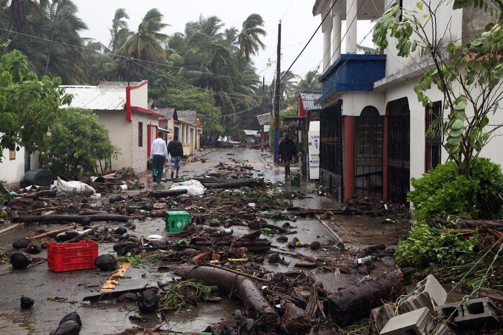 Ураган Ирма в Доминикане